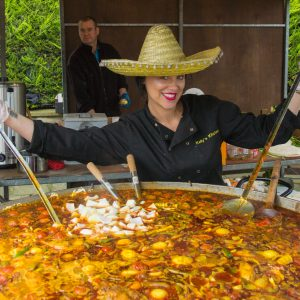 Paella from Kelly's Kitchen